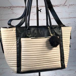 Steve Madden large satchel bag. Crossbody strap.